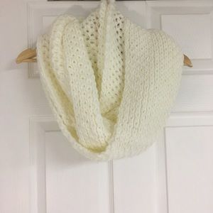 Lord & Taylor off-white infinity scarf.